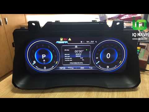 Электронная приборная LED панель (спидометр/тахометр) для Тойота Прадо 120/150