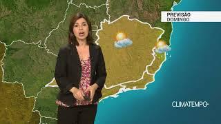 Previsão Sudeste – Domingo ensolarado e seco