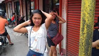 Поиск такси и прогулка по городу вечером - Жизнь на Филиппинах