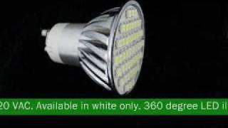 48 smt gu10 led light bulb