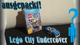 Ausgepackt! Lego City Undercover Wii U Limited Edition - Unpacking Deutsch HD