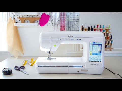 Laurens review of the Brother Innovis VQ2 sewing machine