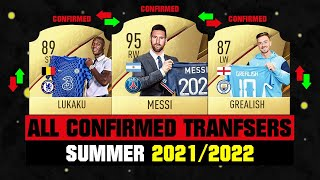 ALL CONFIRMED TRANSFERS NEWS SUMMER 2021 FOOTBALL ft Messi Lukaku Grealish etc