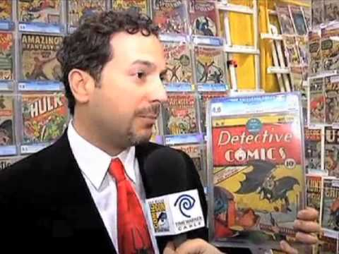 Metropolis Collectibles at San Diego ComicCon 2010 on Time Warner Cable