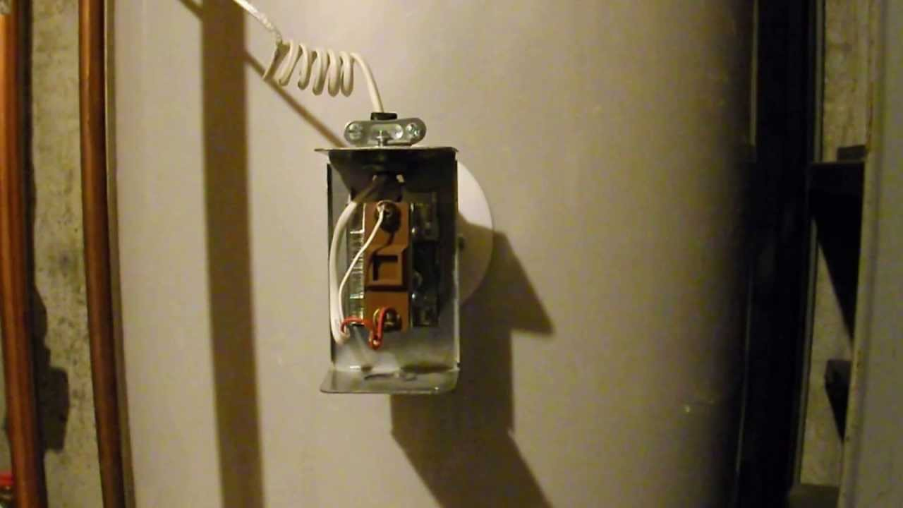 Diy How To Turn Shut Off Your Hot Water Heater Youtube