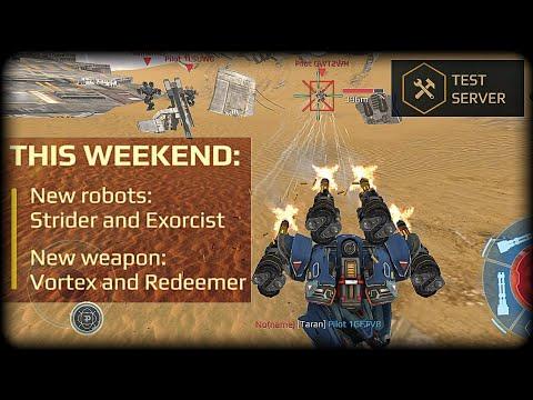 War Robots : Exorcist : New Robot with 4 Medium slots