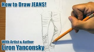How to Draw Jeans!