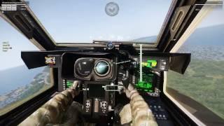 ArmA 3 TFU AH-64 Apache Gunner