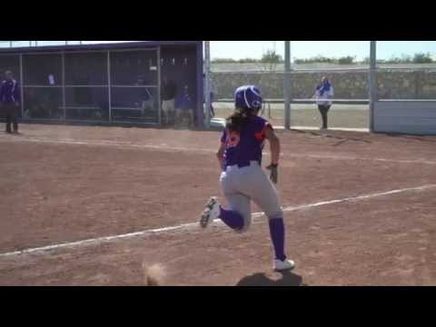 Eastlake High School vs San Elizario High School Varsity Softball Game March 29,2014