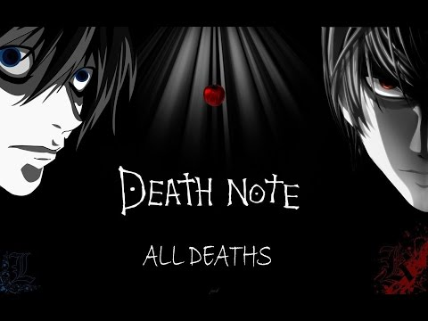 DEATH NOTE All Deaths (in Under 12 Mins)