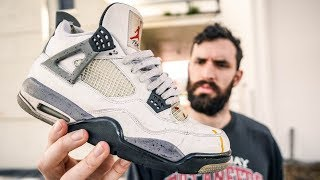 update: AFTER WEARING THE JORDAN 4 WHITE CEMENT FOR 7 YEARS! (Pros & Cons)