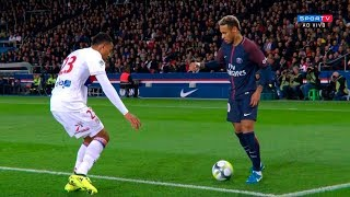 Neymar vs Lyon (Home) HD 720p (17/09/2017)