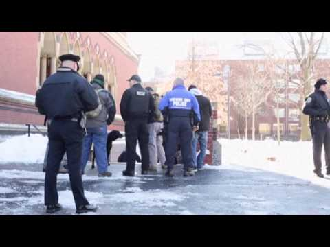 Raw: in the Midst of Finals, Harvard Evacuates