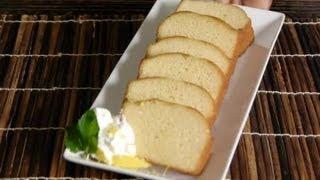 Plain Lemon Pound Cake Recipe : Delicious Pound Cakes