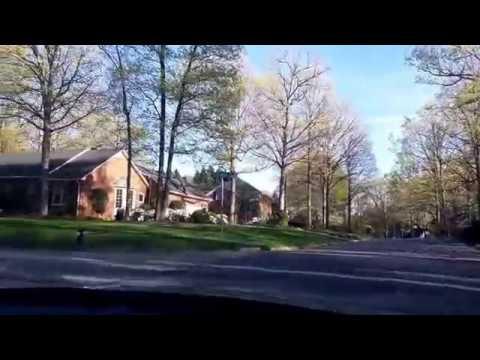 Driving Around Greensboro, North Carolina