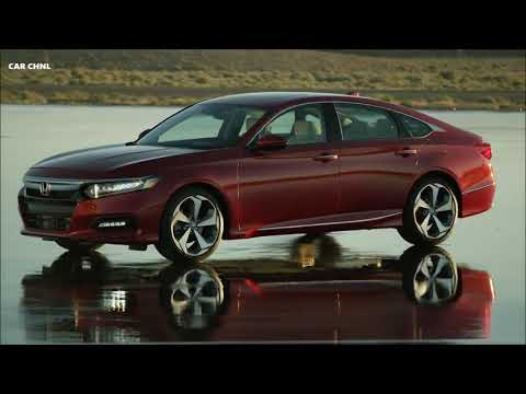 2018 Honda Accord Driving Exterior Interior Design