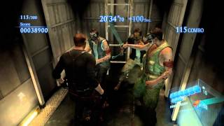 Resident Evil 6 PC - Mercenaries No Mercy Solo - High Sea Fortress - Jake - 2769k