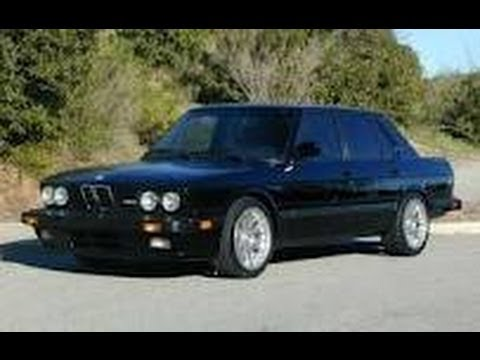 1988 bmw e28 m5 walkaround youtube. Black Bedroom Furniture Sets. Home Design Ideas