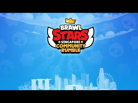 LIVE -  Brawl Stars Singapore Community Rumble April Cup #2 Finals