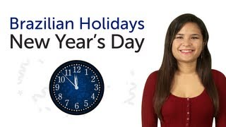 Brazilian Portuguese Holidays - New Year's Day