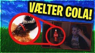 DRENG SPILDER COLA UDOVER SIN COMPUTER | Danske Fortnite Highlights #138