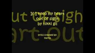 If I keep my heart out of sight by Nikki Gil