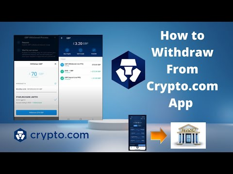 How To Withdraw Money From Crypto.com To Your UK Bank Account | £GBP Fiat Wallet Working (New 2021)
