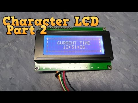 How a Character LCD Works - Part 2