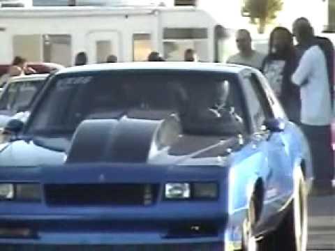 Ss Monte Carlo >> Monte Carlo SS - NASTY DRAG CAR - YouTube