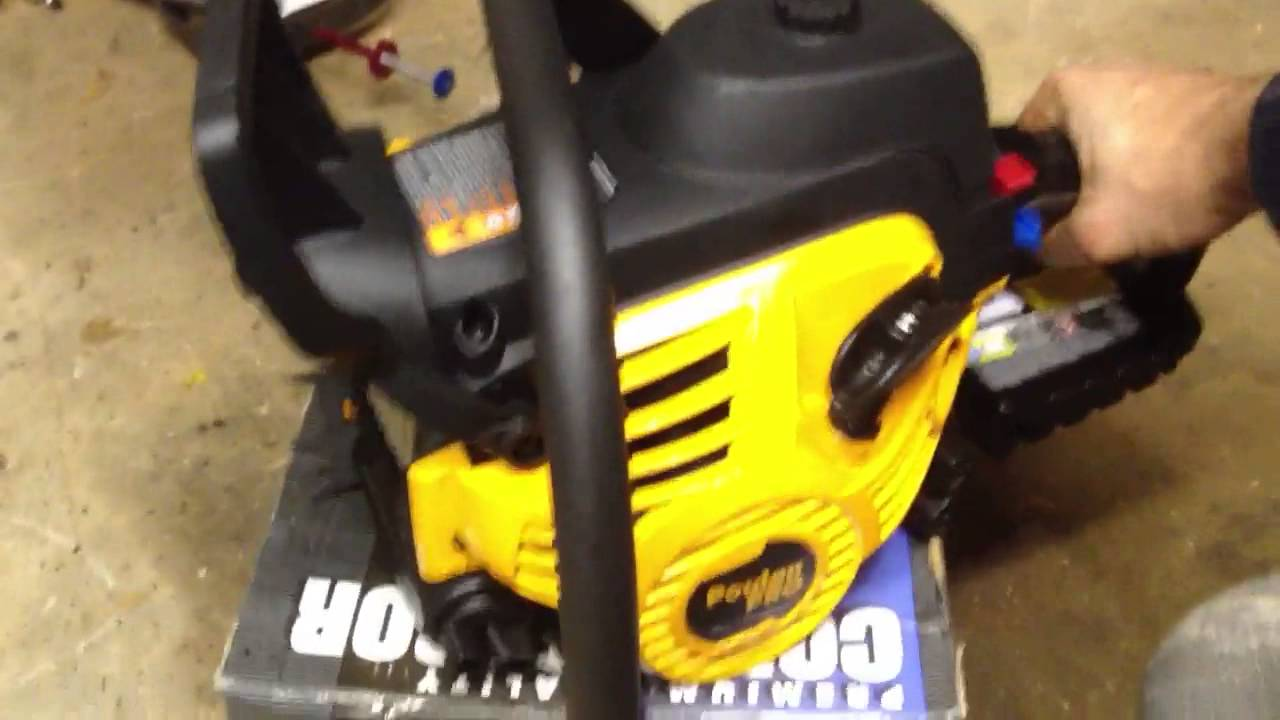 SHULD you Buy? Poulan Pro PP5020AV Gas Chainsaw — Review
