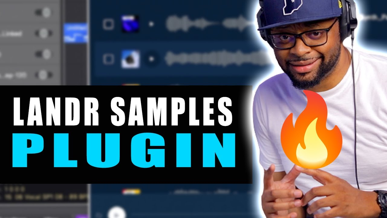 The Easiest Way To Use Samples   Making A Beat With LANDR Samples Plugin