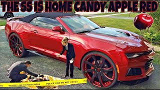 PICKIN UP MY 2017 CAMARO FROM PAINT SHOP CANDY ANYONE