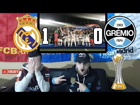 BARÇA FAN REACTS TO: REAL MADRID 1-0 WIN GREMIO - REACTION