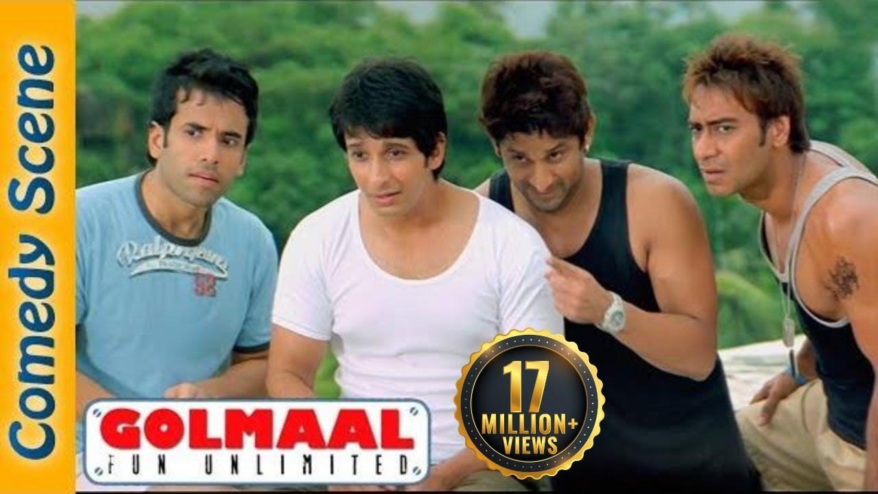 Arshad Warsi Comedy  - Most Viewed Scene - Golmaal Fun Unlimited -  Shemaroo Indian Comedy