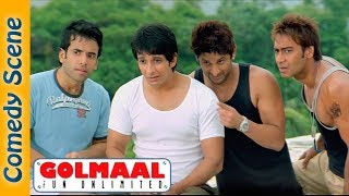 Arshad Warsi Comedy  - Most Viewed Scene - Golmaal Fun Unlimited -  Shemaroo Indian Comedy