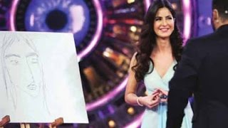 Katrina & Salman paint a picture together