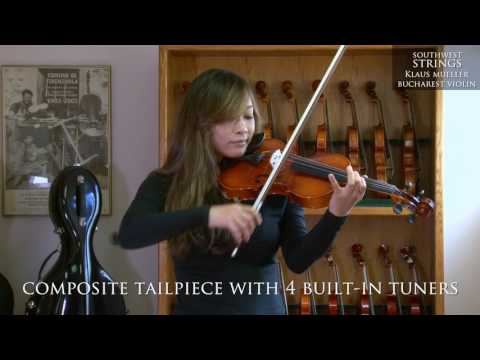 Southwest Strings Klaus Mueller Bucharest Violin Youtube