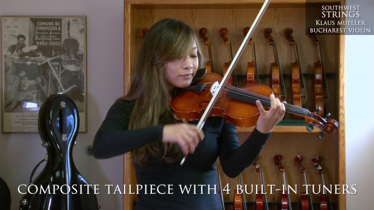 Southwest Strings Klaus Mueller Bucharest Violin