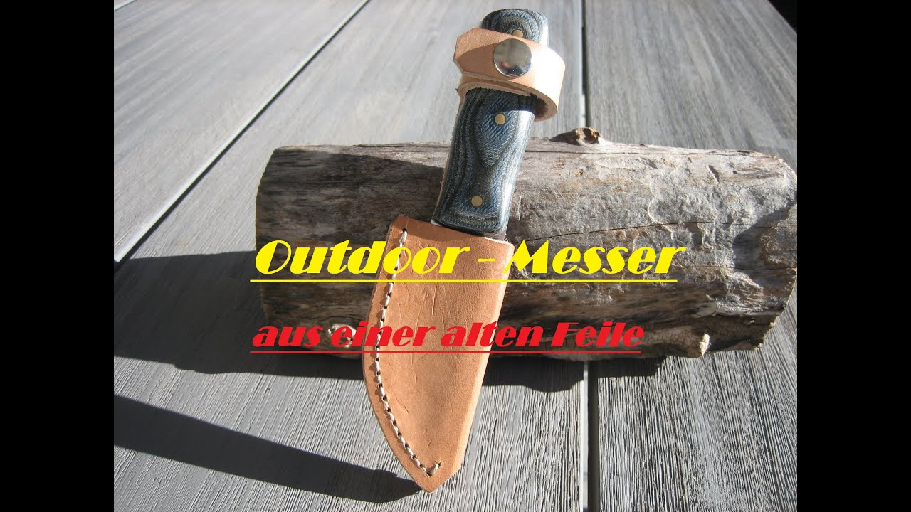 messer selbst gemacht outdoor messer ackmack 04 youtube. Black Bedroom Furniture Sets. Home Design Ideas