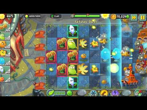 Plants vs. Zombies 2 - Far Future World Update for Android