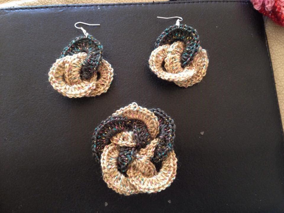 Dream Catcher Earrings Crochet In Tamil Youtube