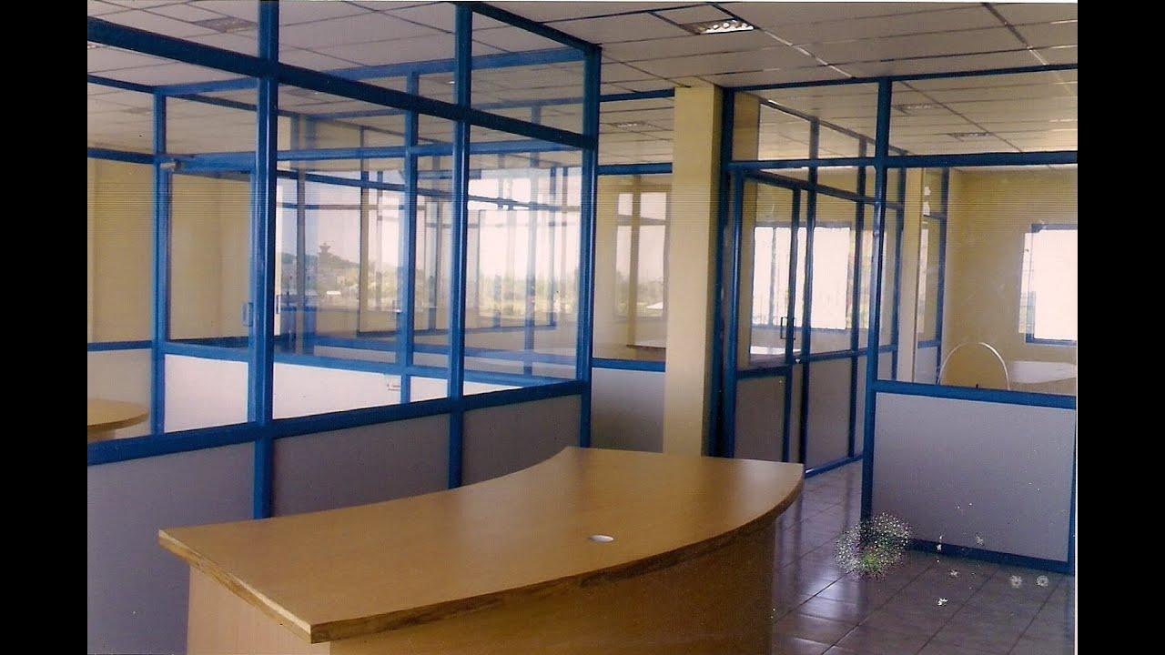 Aluminium Office Cabins : Aluminium office cabin works youtube