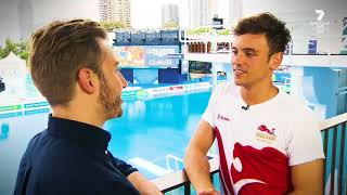 Cover images Tom Daley Interview