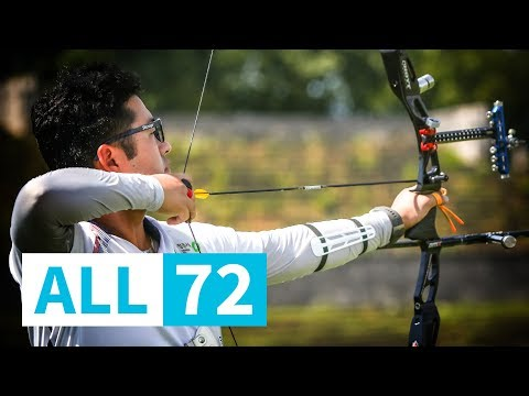 All 72: Kim Woojin's 664/720 qualification at Berlin 2018