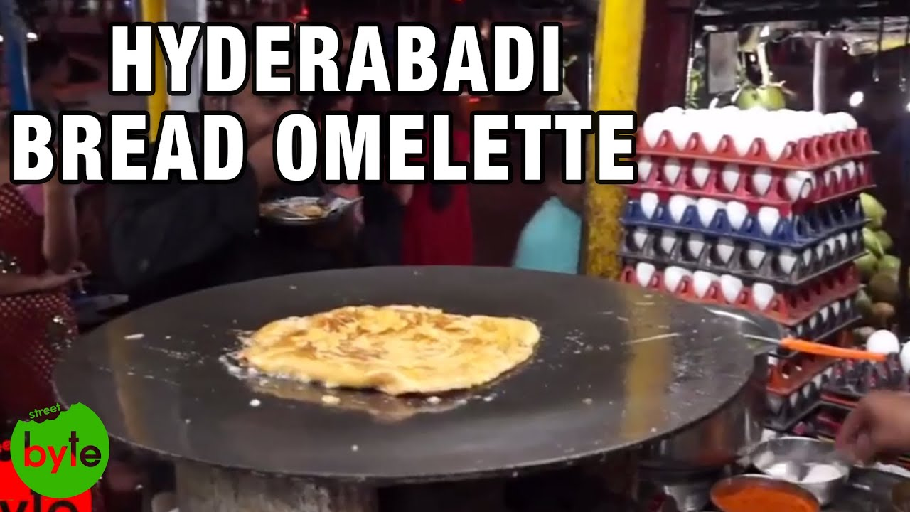 Bread Omelette Street Food