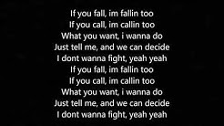 Fallin Too - By: Russ (Lyrics)