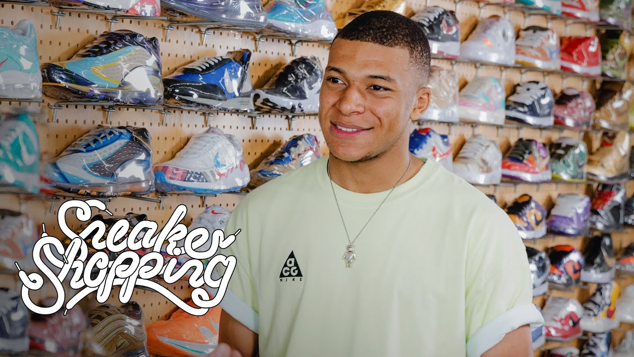 Download Kylian Mbappé Goes Sneaker Shopping With Complex