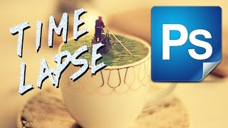 Time Lapse photoshop art #5 Venice Latte