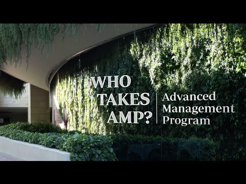 Who Takes AMP? IESE Advanced Management Program
