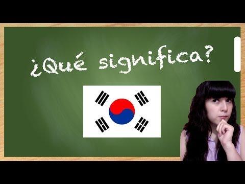 K-world! - Significado de la bandera de Corea del Sur